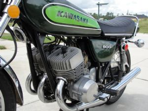 KAWASAKI - H1E - COMPLETE SET - TRANSFERS - 1974 - CANDY LIME MODEL - D57011
